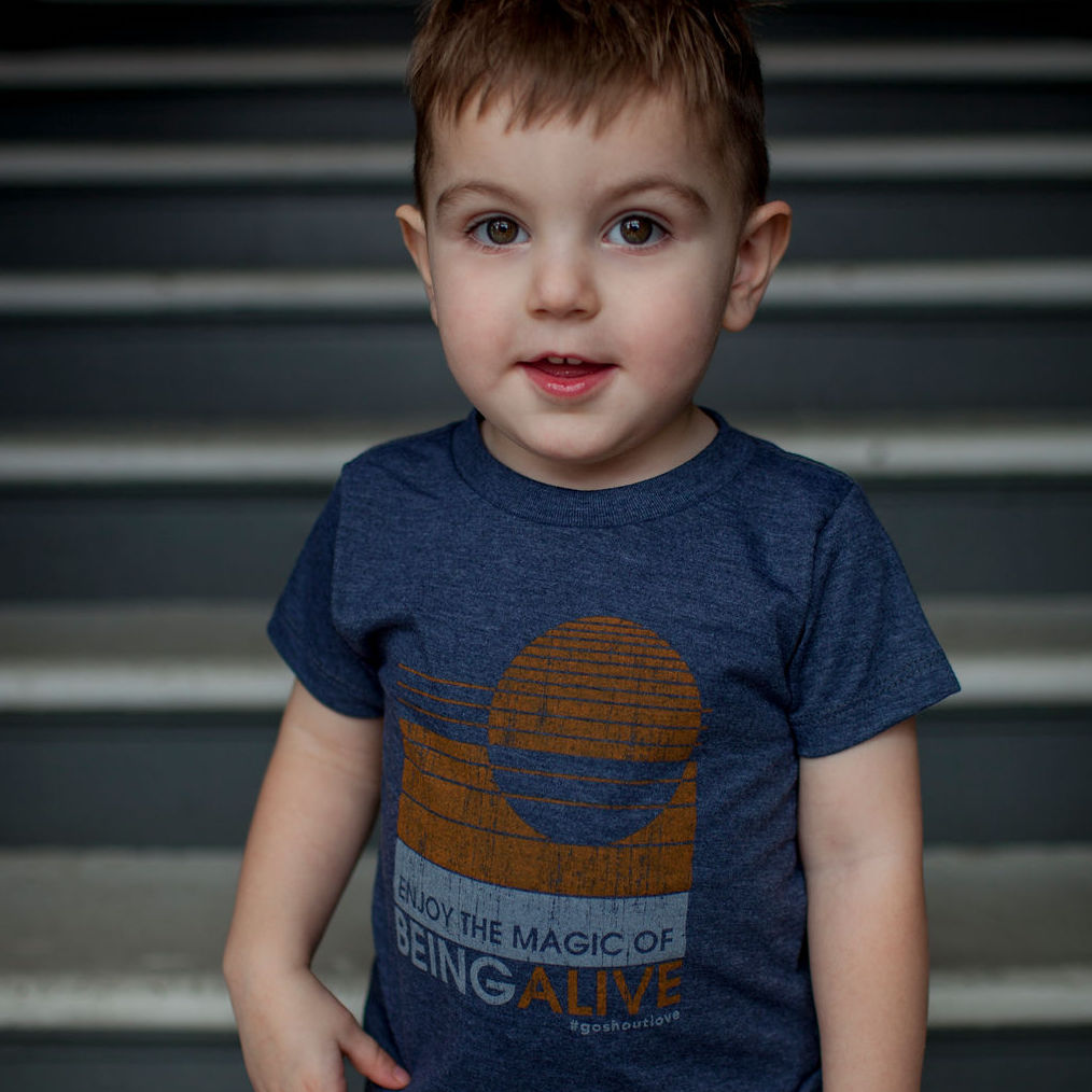 Enjoy the Magic of Being Alive – Child Tee