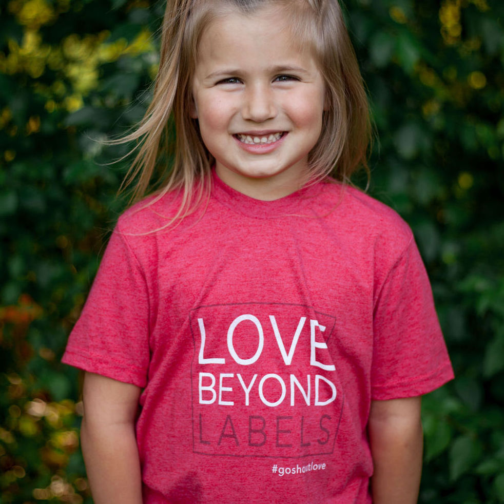 Love Beyond Labels – Youth Tee