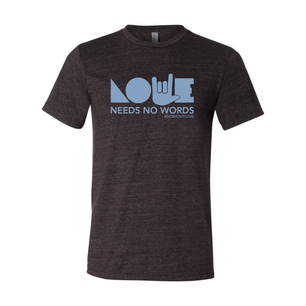 Love Needs No Words – Youth Tee